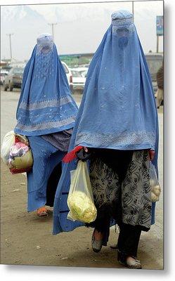 Afghan's Veil Metal Print