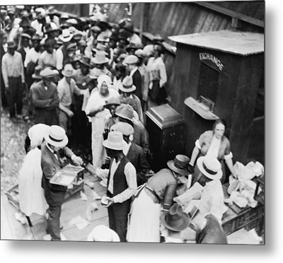 African American Victims Of The Tulsa Metal Print by Everett