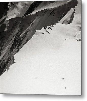 Akkem Wall. Western Plateau Metal Print by Konstantin Dikovsky