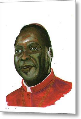Albert Ndongmo Metal Print by Emmanuel Baliyanga