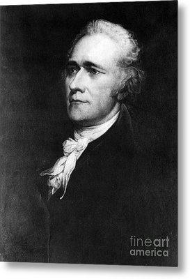 Alexander Hamilton, American Patriot Metal Print