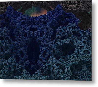 Alien Cave Metal Print by Thomas  MacPherson Jr