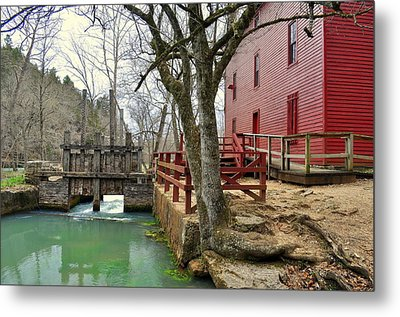 Metal Print featuring the photograph Alley Spring Mill 34 by Marty Koch