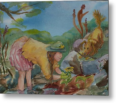 Almost Playtime Metal Print by Barbara McGeachen