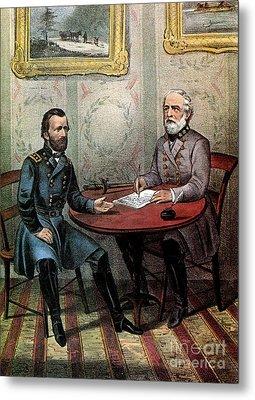 American Civil War  Metal Print by Photo Researchers