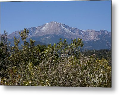 Americas Mountain Metal Print by Marta Alfred