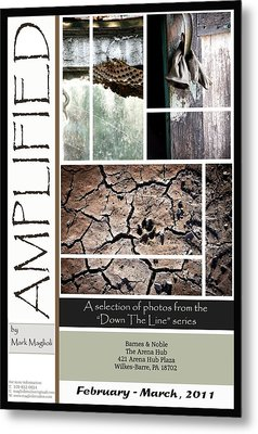 Amplified Poster Metal Print by Maglioli Studios