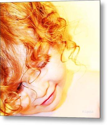 An Angels Smile Metal Print by Kerri Ligatich