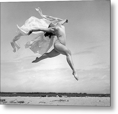 An Exuberant Dance To Spring Metal Print by Underwood Archives