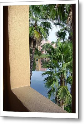 Metal Print featuring the photograph An Imposing View by Frank Wickham