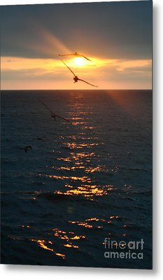 ...and At The End Of The Day... Metal Print by Valerie Rosen