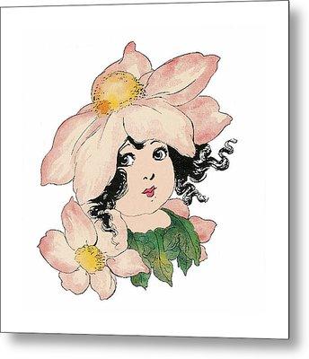 Anemone Or Windflower Metal Print