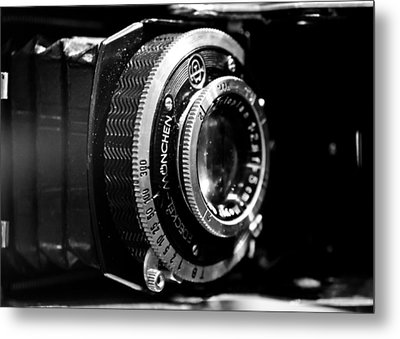 Antique Camera Metal Print by Edward Myers