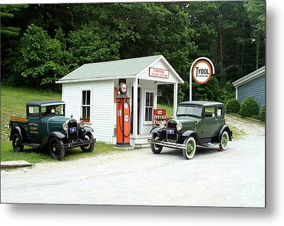 Antique Cars Metal Print by Ted Kinsman