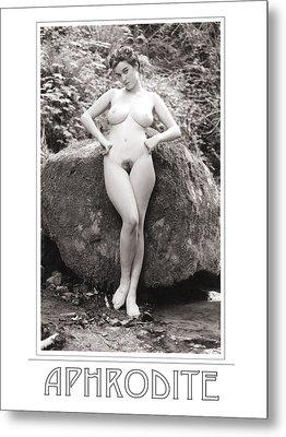 Aphrodite Metal Print by Ellis Christopher