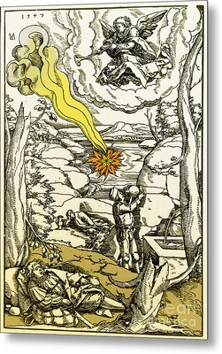 Apocalypse, 16th Century Metal Print by Photo Researchers