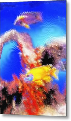 Aquarium Art 8 Metal Print by Steve Ohlsen
