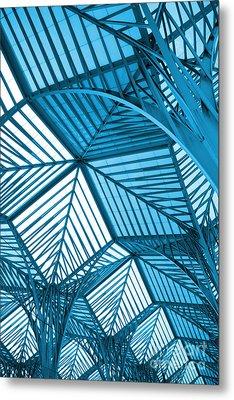 Architecture Design Metal Print by Carlos Caetano