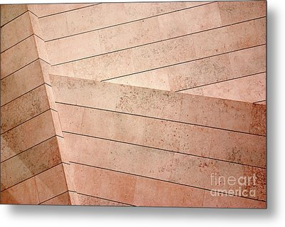 Architecture Lines Metal Print by Carlos Caetano