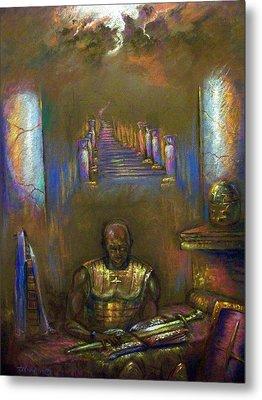 Armor Of God Metal Print by Tommy  Winn