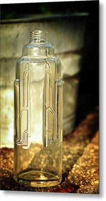 Art Deco Form And Function Metal Print by Rebecca Sherman