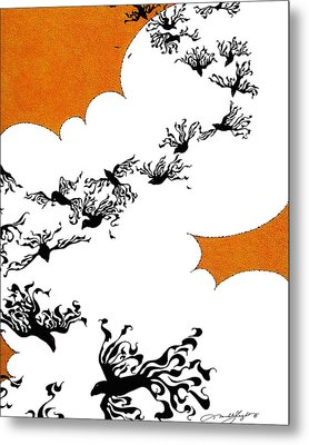 As The Crows Fly Metal Print