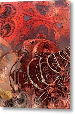 Asimov One Metal Print by Pam Blackstone