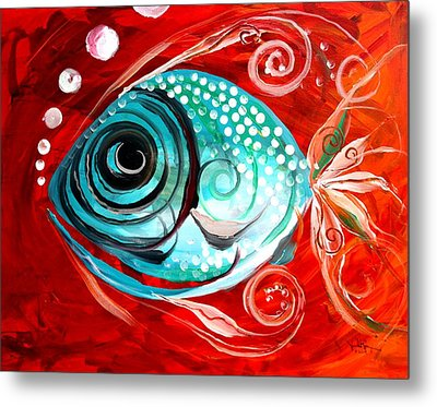 Attract Metal Print by J Vincent Scarpace