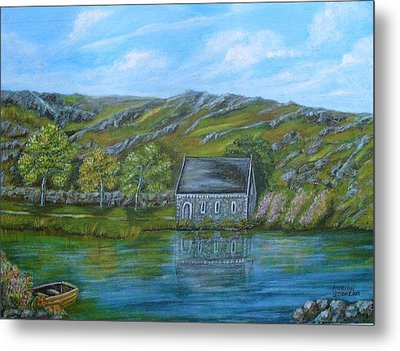 Autumn At Gougane Barra Metal Print