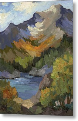 Autumn At South Lake Metal Print by Diane McClary