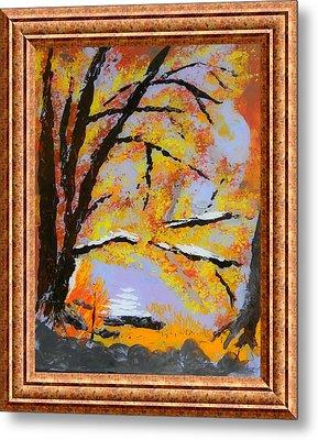 Autumn Dreaming  Metal Print by Warren Thompson