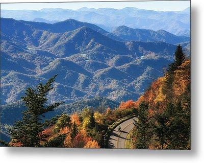 Autumn On The Blue Ridge Parkway Metal Print by Lynne Jenkins