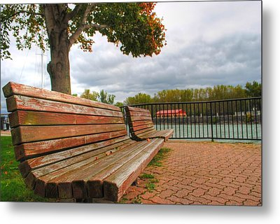 Metal Print featuring the photograph Awaiting by Michael Frank Jr