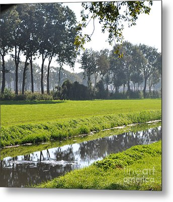 Metal Print featuring the photograph Baarschot Picture by Nop Briex