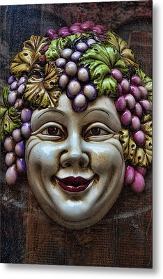 Bacchus God Of Wine Metal Print by David Smith