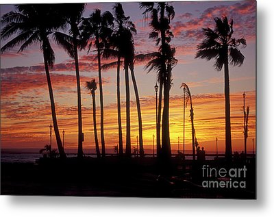 Metal Print featuring the photograph Baja Sunset La Paz  Mexico by John  Mitchell
