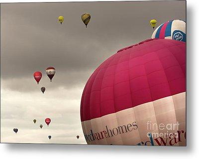Baloons Metal Print by Angel  Tarantella