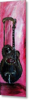 Metal Print featuring the painting Bass  2 by Amanda Dinan
