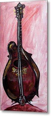 Metal Print featuring the painting Bass by Amanda Dinan