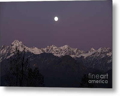 Metal Print featuring the photograph Bathed In Moonlight by Fotosas Photography