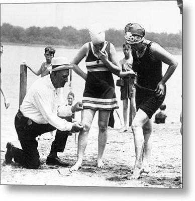 Bathing Suits, 1922 Metal Print by Granger
