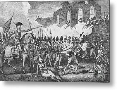 Battle Of Concord, 1775 Metal Print