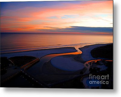 Beautiful End Metal Print