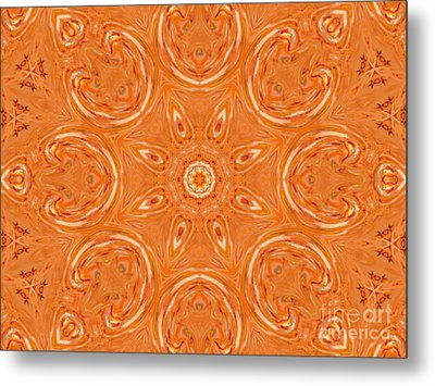 Beautiful Orange Metal Print by Jeannie Atwater Jordan Allen
