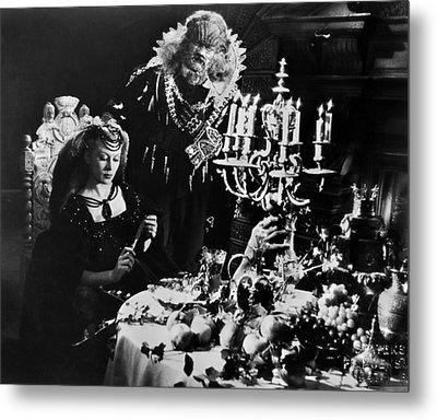Beauty And The Beast, 1946 Metal Print