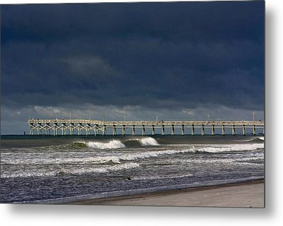 Metal Print featuring the photograph Before The Storm by Laurinda Bowling