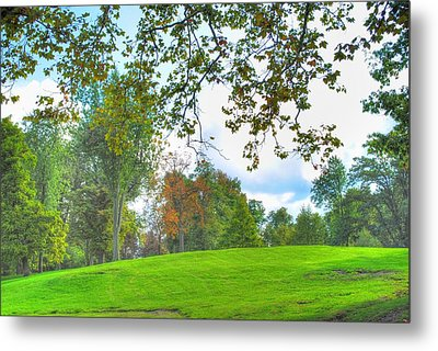 Metal Print featuring the photograph Beginning Of Fall by Michael Frank Jr