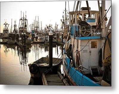Metal Print featuring the photograph Bellingham Fishing Boats by Craig Perry-Ollila