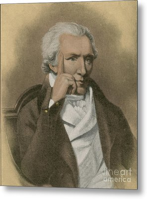 Benjamin Thompson, Anglo-american Metal Print by Science Source
