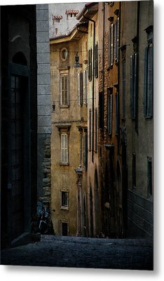 Bergamo Alley Metal Print